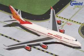 Air India Boeing 747-400 Reg# VT-EVA  Geminijets GJAIC1638 Scale 1:400