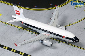 British Airways Airbus A319 BEA Retro Livery G-EUPJ  GJBAW1859 scale 1:400
