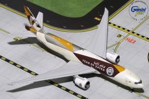 Etihad Cargo 777F Reg# A6-DDE Year of Zayed Gemini GJETD1812 Scale 1:400