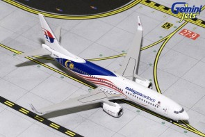 Malaysian Airlines Boeing B737-800 Negaraku 9M-MXS GJMAS1681 Gemini Scale 1:400
