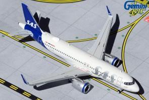 SAS Scandinavian Airbus A320neo SE-ROH new livery Gemini Jets GJSAS1916 scale 1:400