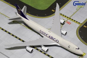 Saudi Arabia Boeing Cargo 747-8F HZ-AIH Gemini Jets  Die Cast GJSVA1555 Scale 1:400