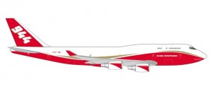 "Global Supertanker Services Boeing 747-400 N744ST ""John Muir"" Herpa 531955 scale 1:500"
