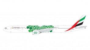 Green Emirates Boeing 777-300ER A6-EPU Expo 2020 Gemini 200 G2UAE799 scale 1:200