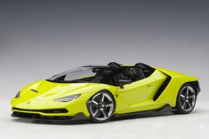 Green Lamborghini Centenario Roadster Verde Scandal/Solid Light Green AUTOart 79118 scale 1:18