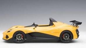 Green Lotus 3-Eleven with yellow accents AUTOart 75393 dscale 1:18