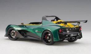 Green Lotus 3-Eleven with yellow accents AUTOart 75392 scale 1:18