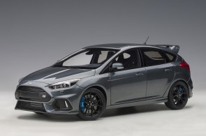 Grey Ford Focus RS 2016 Stealth Grey AUTOart 72954 die-cast scale 1:18