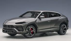 Grey Lamborghini Urus Grigio Lynx/Metallic Grey AUTOart 79164 scale 1:18