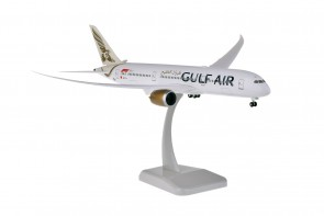 Gulf Air Boeing 787-9 Dreamliner A9C-FA gears & stand Hogan HG11007G scale 1:200
