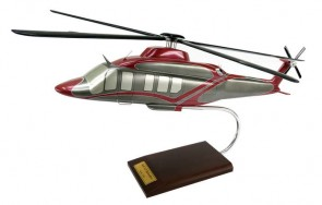 Bell 525 Relentless Helicopter Crafted Executive Model H30930 Scale 1:30