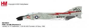 "F4H-1 (F-4B) Phantom II  148390f, VF-74 ""Bedevilers"", CVA-59 USS Forrestal,   US Navy, 1962"