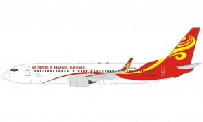 Hainan Airlines Boeing 737-800 winglets 海南航空 B-5581 NG models 58059 scale 1:400