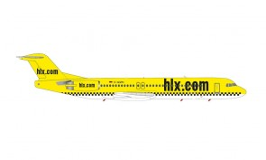 Hapag-Lloyd Express Fokker F-100 D-AGPN Herpa Wings die-cast 571258 scale 1:200