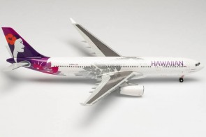 "Hawaiian Airbus A330-200 ""Keali' Iokonaikalewa"" Star N389HA Herpa 571753 scale 1:200"