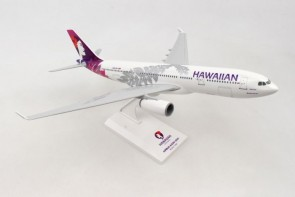 Hawaiian Airbus A330-200 N361HA new livery w/stand Skymarks SKR987 scale 1:200
