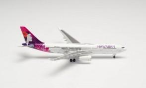 "Hawaiian Airlines Airbus A330-200 N361HA ""Hoku Mau"" 535557 scale 1:500"