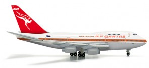 Qantas 747SP Old livery Herpa Wings die cast 523714 scale 1:500