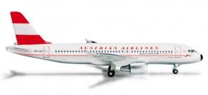 Herpa Austrian  A320 REG# OE-LBP 1:500