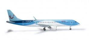 Herpa Wings 1:200 Embraer e190 Flybe Welcome to Yorkshire 558297