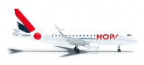 HOP! Air France ERJ170 Reg# F-HBXJ Herpa, HE526302, 1:500