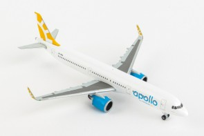 Apollo by Novair (Sweeden) Airbus A321neo Herpa 533065 scale 1:500