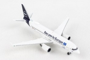 "Lufthansa Airbus A320 ""Sindelfingen"" ""Say Yes to Europe"" D-AIZG Herpa Wings 533614 scale 1:500"
