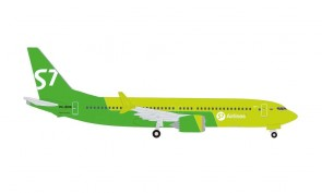 S7 Airlines Boeing 737Max8 VQ-BGW  Herpa Wings 534260 scale 1:500