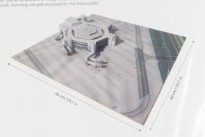 Frankfurt Terminal 1 Construction Set Herpa 534734 scale 1:500