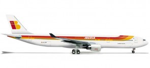 Iberia A330-300 1/200 REG#EC-LUB Scale 1:200