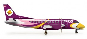 "Nok Mini Saab 340 ""Purple"" Reg# HS-GBC"