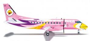 Nok Air Saab SF-340 Pink Reg# HS-GBD HE556088 1:200