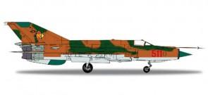 NVA/LSK MiG-21MF,Brown Camo HE556170 1:200