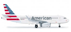 American A319   HE556330 W/Sharklets 1:200