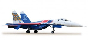 Russian Knights SU27, Aerobatic Team HE556385 1:200