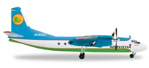 HE556613, uzbekistan, AN24B  scale 1:200, 1/200,