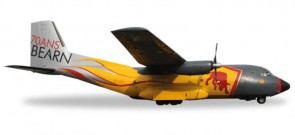 French Air Force Transall C-160 64th Transport Wings Reg# R89/61-ZG Herpa Wings 557955 Scale 1:200