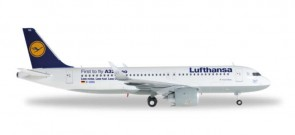 A320 Neo Lufthansa Airbus Herpa Wings  557979 Scale 1:200