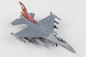 SKU#HE570992  HERPA ROYAL NETHERLANDS AIR FORCE F-16A 1/200