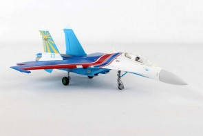 Russian Knights Sukhoi SU-27UB Dem. Team, Blue 23 580212 Herpa Scale 1:72