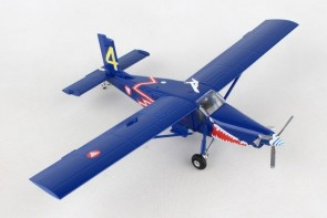 "New Mould First Pilatus-Porter! Austrian Air Force PC-6 Turbo ""Blaue Elise"" #4 Herpa 580274 Scale 1:72"