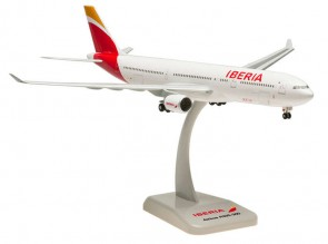 Iberia Airbus A330-300 Spain With Landing Gears and Stand HG0281G 1:200