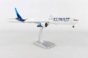 Kuwait New Livery Boeing 777-300ER Gears & Stand HG10680G Scale 1:200