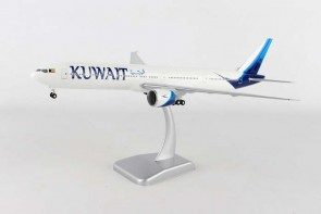 *Kuwait New Livery Boeing 777-300ER Gears & Stand HG10680G Scale 1:200