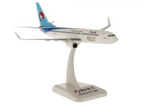 Hebei Boeing 737-800 Winglets 河北航空 with stand  no gears Hogan HG10819G Scale 1:200