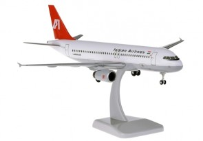 Indian Airlines Airbus A320 VT-EYH Gears & Stand HG11083G scale 1:200