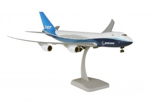 Cargo Boeing 747-8F new 2019 livery with gears & stand Hogan HG11489G scale 1:200