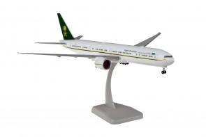 Saudi Arabia Boeing  B777-300ER  HZ-MF9  stand & gears Hogan HG11595G scale 1:200