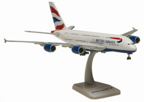 British Airways Airbus A380 Reg G-XLEA Hogan Wings HG40007 Scale 1:400