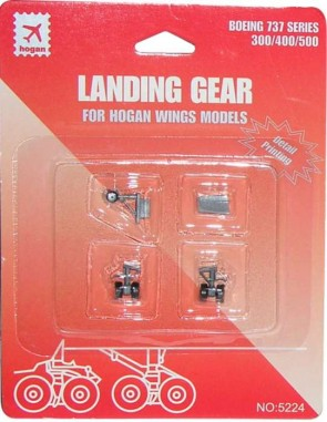 Landing Gear for Hogan Wing Models Boeing B737-300/400/500 HG5224 Scale 1:200